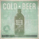 Beer Vintage Design Template Stock Photos