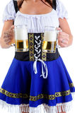 Beer Waitress Stock Images