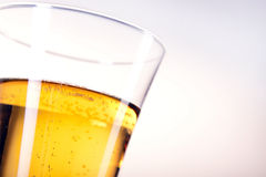 Beer on white background Stock Photos