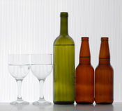 Beer & wine Stock Images