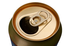 Beercan vide Images stock