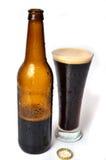 Beerdark啤酒 免版税库存照片