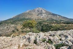 Beerdigungs-Grab in Mycenae Stockbild