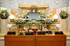 Beerdigungsinstitut Stockfoto