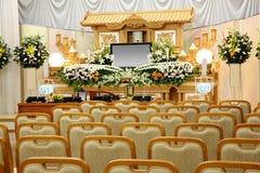 Beerdigungsinstitut Lizenzfreie Stockfotos