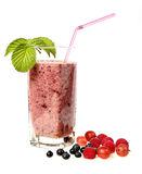 Beere Smoothie Lizenzfreie Stockfotos