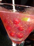 Beeren-Cocktail Lizenzfreie Stockfotos