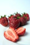 Beeren der Erdbeere Stockbild
