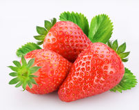 Beeren der Erdbeere Stockfoto