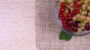Beeren in einer Schale Stockfotografie