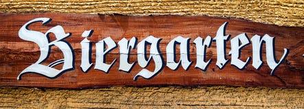 Beergarden Στοκ Εικόνα