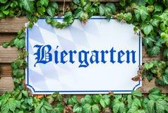 Beergarden Photo libre de droits