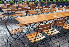Beergarden Royalty Free Stock Photo