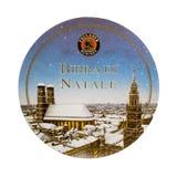 Beermat被隔绝的饮料沿海航船 库存照片
