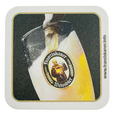 Beermat drink coaster isolated Stock Photos