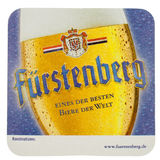 Beermat drink coaster isolated Royalty Free Stock Photography