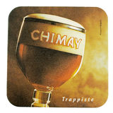 Beermat drink coaster isolated Royalty Free Stock Images