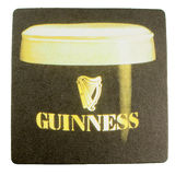 Beermat drink coaster isolated Stock Photography