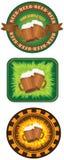 Beermats illustrazione vettoriale