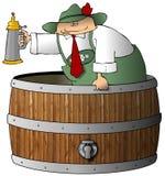 Beermeister royalty-vrije illustratie