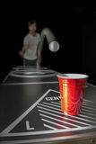 Beerpong Obrazy Royalty Free