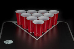 Beerpong Stock Image