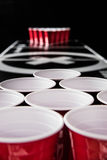 Beerpong Royalty Free Stock Photos