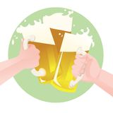 Beers Royalty Free Stock Photo