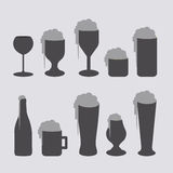 Beers design Royalty Free Stock Images