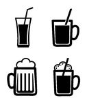 Beers design Royalty Free Stock Photography