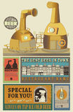 Beers design Royalty Free Stock Photos