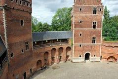 beersel κάστρο Στοκ εικόνες με δικαίωμα ελεύθερης χρήσης