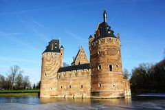 Beersel Castle (Belgium) Royalty Free Stock Photos