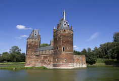 Beersel Castle in Brussels Stock Image