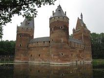 Beersel slott Arkivbilder