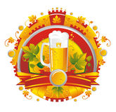 BeerVignette Royalty Free Stock Photography