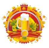 BeerVignette Photographie stock libre de droits