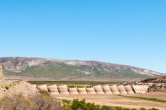 Beervlei tama blisko Willowmore, Południowa Afryka Obrazy Royalty Free