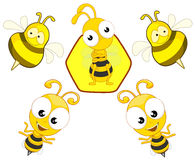 Bees Stock Photography