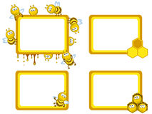 Bees frameworks Stock Photos