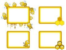 Bees frameworks stock illustration