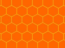 Bees honeycomb background. Image of abstract bees honeycomb background Royalty Free Stock Photos