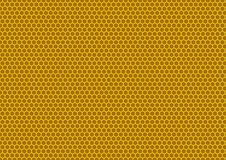 Bees honeycomb illustration. Natural background with honeycomb pattern royalty free illustration