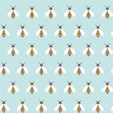 Bees pattern Stock Photos