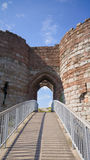 Beeston Castle in Cheshire, England Stock Image