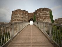 Free Beeston Castle Is A Former Royal Castle In Cheshire, England,perched On A Rocky Sandstone Crag 350 Feet Above The Cheshire Plain. Stock Images - 157378524