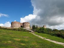 BEESTON, CHESHIRE/UK - 16 ΣΕΠΤΕΜΒΡΊΟΥ: Αρχαίες καταστροφές Beeston Γ Στοκ εικόνα με δικαίωμα ελεύθερης χρήσης