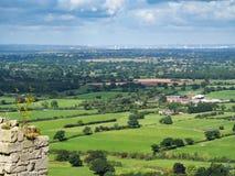 BEESTON, CHESHIRE/UK - 16 DE SETEMBRO: Opinião Cheshire Count imagem de stock royalty free