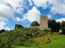 BEESTON, CHESHIRE/UK - SEPTEMBER 16 : Ancient Ruins at Beeston C Stock Photos