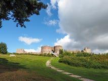 BEESTON, CHESHIRE/UK - SEPTEMBER 16 : Ancient Ruins of Beeston C Royalty Free Stock Image